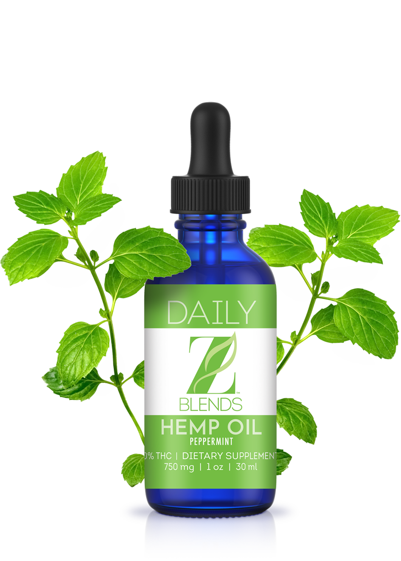 Z Blends Daily Hemp Oil