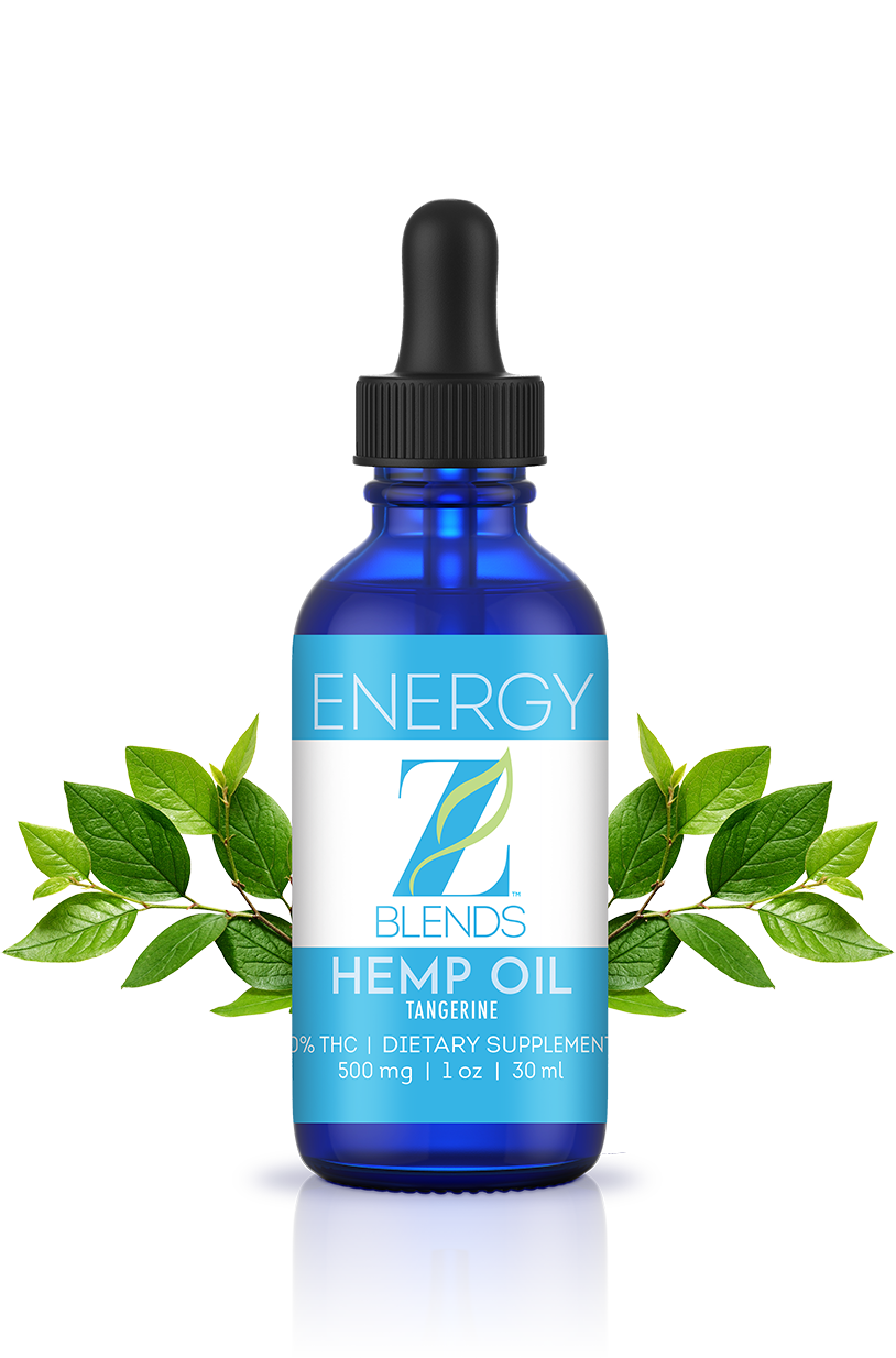 Z Blends Energy Hemp Oil