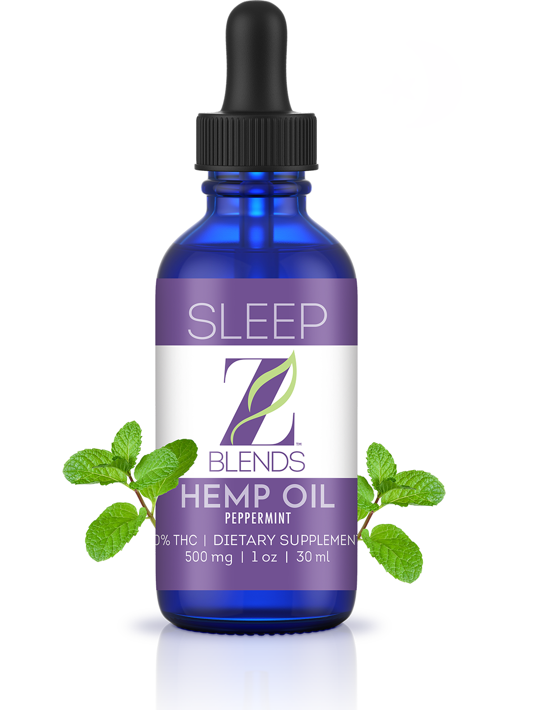 Z Blends Sleep Hemp Oil